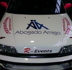 Abogado Amigo coche automovilismo F1 conducir